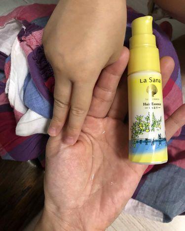 海藻 ヘア エッセンス 瀬戸内レモンの香り/ラサーナ/ヘアオイルを使ったクチコミ(1枚目)