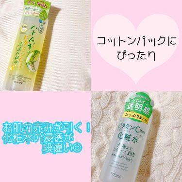 肌ラボ極水 ハトムギ+浸透化粧水/肌ラボ/化粧水を使ったクチコミ(1枚目)