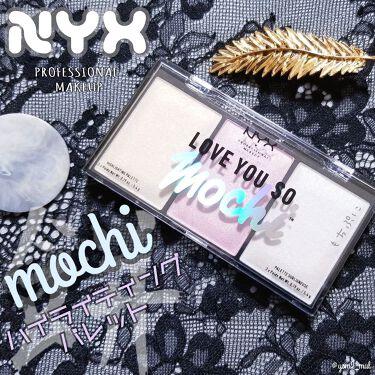 ラブ ユー ソー モッチ ハイライティング パレット/NYX Professional Makeup/プレストパウダー by 吉見さん