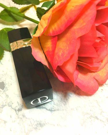 ルージュディオールダブル/Dior/口紅を使ったクチコミ(1枚目)