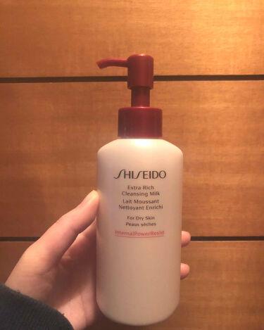 エクストラリッチ クレンジングミルク/SHISEIDO/その他洗顔料を使ったクチコミ(2枚目)