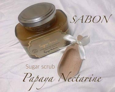 シュガー スクラブ/SABON/ボディスクラブ by huis