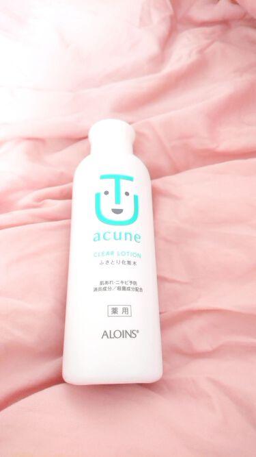 アキュネ 薬用ふきとり化粧水を使ったクチコミ(2枚目)
