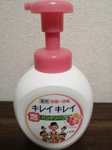 薬用泡ハンドソープ フルーツミックスの香り/キレイキレイ/ハンドクリーム・ケアを使ったクチコミ(1枚目)