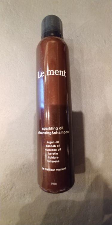 スパークリングオイル クレンジング&シャンプー/Le ment(ルメント)/頭皮ケアを使ったクチコミ(1枚目)