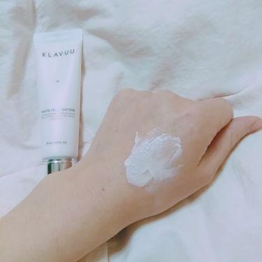 ホワイトパールセーションバックステージクリーム/その他/化粧下地を使ったクチコミ(3枚目)