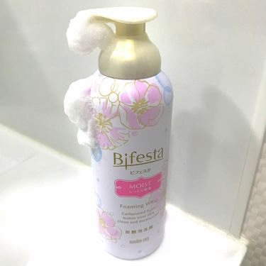 泡洗顔 モイスト/ビフェスタ/洗顔フォームを使ったクチコミ(1枚目)
