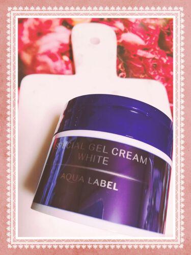 スペシャルジェルクリームA (ホワイト)/アクアレーベル/オールインワン化粧品を使ったクチコミ(2枚目)