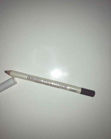 デザイニングペンシル アイブロー/DHC/アイブロウペンシルを使ったクチコミ(2枚目)
