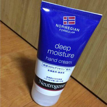 ノルウェー フォーミュラ ディープモイスチャー ハンドクリーム/Neutrogena/ハンドクリーム・ケアを使ったクチコミ(1枚目)