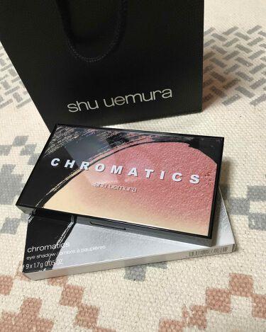クロマティックス - サクラ ヌード/shu uemura/パウダーアイシャドウを使ったクチコミ(1枚目)
