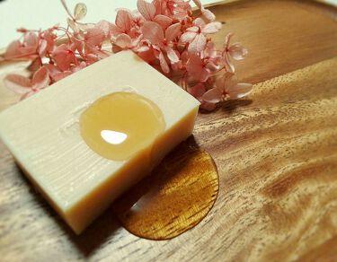 手作り洗顔石鹸 アンティアン クイーン オブ ソープ 「ラベンダーハニー」/アンティアン/洗顔石鹸を使ったクチコミ(1枚目)