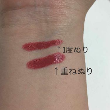 RU16 GLOSSY/16brand/口紅を使ったクチコミ(3枚目)