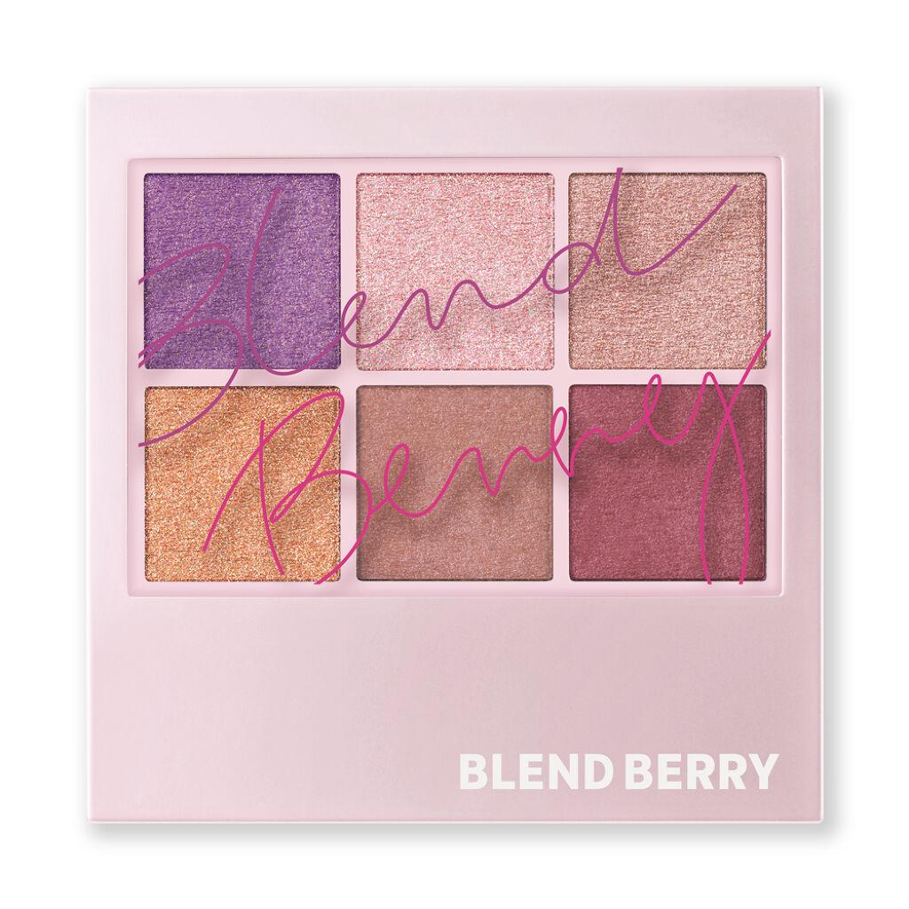 新ブランド「BLEND BERRY」の6色アイパレットを誰よりも早く!発売記念プレゼント!(2枚目)