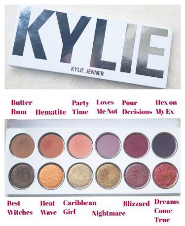 Empty-White Palette Kylie Cosmetics