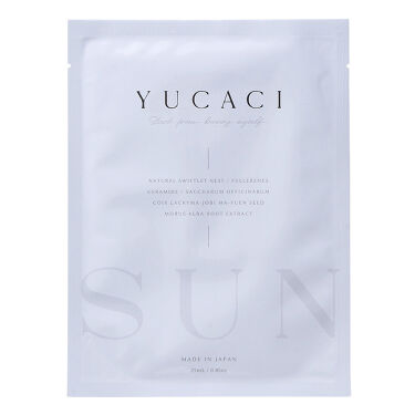 2021/3/8発売 YUCACI フェイスマスクS(SUN)