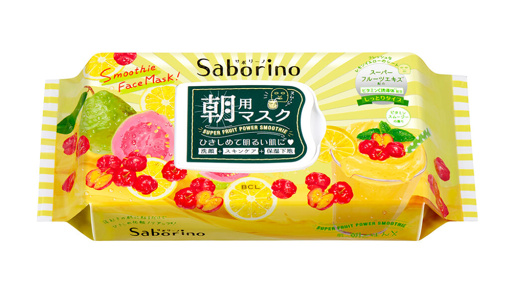 目ざまシート ビタミンスムージーの香り サボリーノ