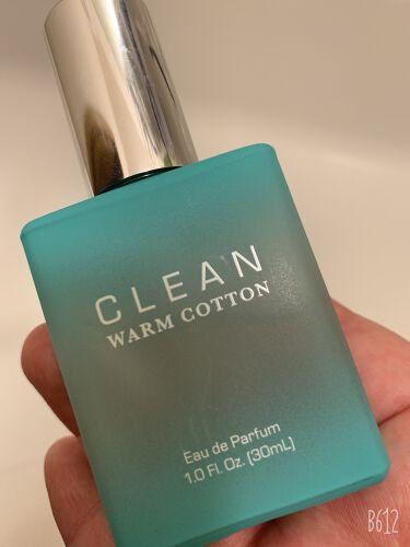 【画像付きクチコミ】ウォームコットンオードパルファム クリーン香り 最高。男女共につけれる香り。清潔感がある石鹸や柔軟剤のような香り。会社にもつけていけそうただしつけ過ぎるとエレベーター等で嫌がられそう。学校にはつけない方がいい。石鹸の香りとはいえ香水、...