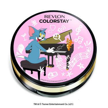 カラーステイ クッション ロングウェア ファンデーション 104 バフ(明るい肌色)(トムとジェリー 限定パッケージ)