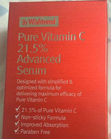 ピュアビタミン C21.5 アドバンスドセラム/By Wishtrend/美容液を使ったクチコミ(1枚目)