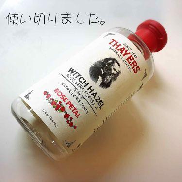 みっぽ、さんの「セイヤーズローズペタル ウィッチヘーゼル アルコールフリー化粧水<化粧水>」を含むクチコミ