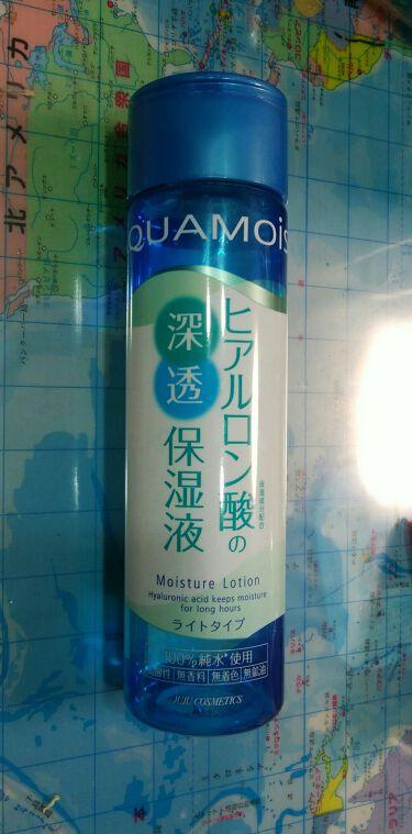 アクアモイスト ヒアルロン酸の浸透保湿液 ライトタイプ/ジュジュ/化粧水を使ったクチコミ(1枚目)