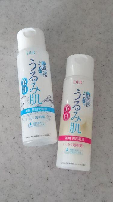 カオルさんの「DHC濃密うるみ肌 薬用美白化粧水<化粧水>」を含むクチコミ