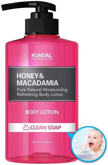 ハニー&マカダミア ピュアボディローション クリーンソープ Clean soap