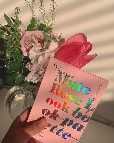 19S/SLook Book MUTE ROSE LOOK/espoir(エスポワール/韓国)/パウダーアイシャドウを使ったクチコミ(1枚目)