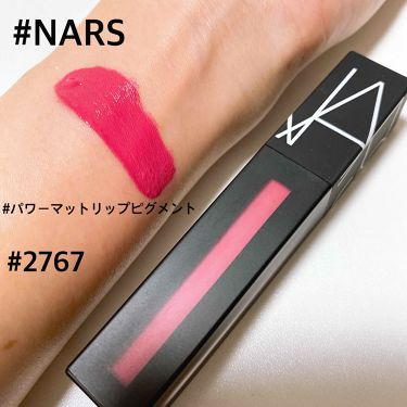 パワーマットリップピグメント/NARS/口紅を使ったクチコミ(1枚目)