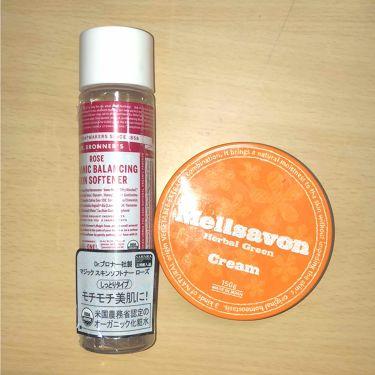 マジック スキンソフトナー(ローズ)/ドクターブロナー/化粧水を使ったクチコミ(1枚目)