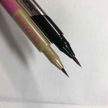 描くふたえアイライナー/CEZANNE/リキッドアイライナーを使ったクチコミ(3枚目)
