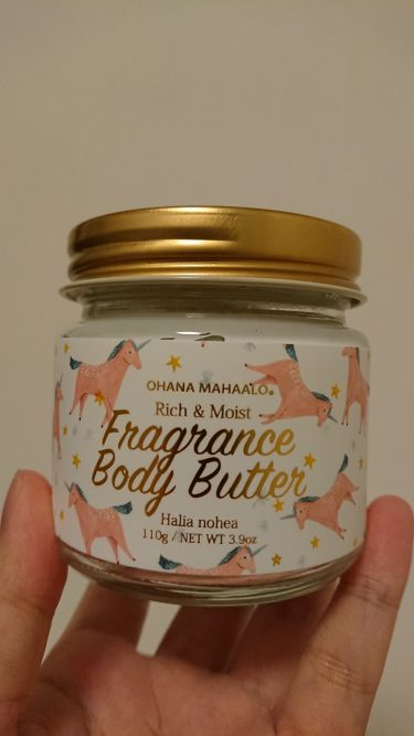 オハナ・マハロ フレグランス ボディバター <ハリーア ノヘア>/OHANA MAHAALO/ボディクリーム・オイルを使ったクチコミ(1枚目)