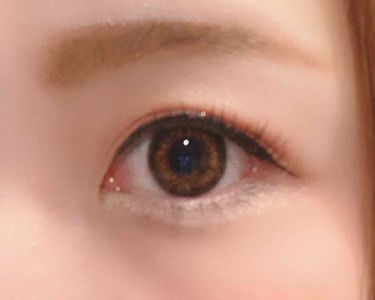 デコラティブアイズ UVモイスト/Decorative Eyes/カラーコンタクトレンズを使ったクチコミ(4枚目)