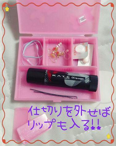サンリオ コスメケース /セリア/その他化粧小物を使ったクチコミ(3枚目)