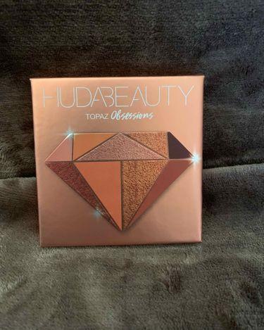 Obsessions Eyeshadow Palette/Huda Beauty/パウダーアイシャドウを使ったクチコミ(1枚目)