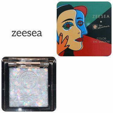 ZEESEA ×PICASSO COLOREYESHADOW/ZEESEA/パウダーアイシャドウを使ったクチコミ(1枚目)