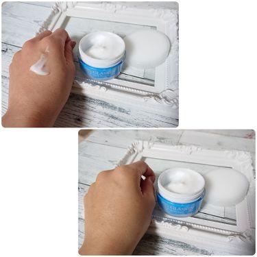 GLASKIN ホワイトウォータークリーム/さくらの森/オールインワン化粧品を使ったクチコミ(2枚目)