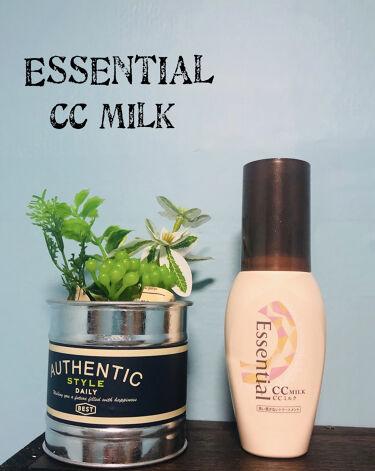 CCミルク/エッセンシャル/ヘアミルクを使ったクチコミ(1枚目)