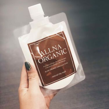 泥洗顔/ALLNA ORGANIC/洗顔フォームを使ったクチコミ(2枚目)