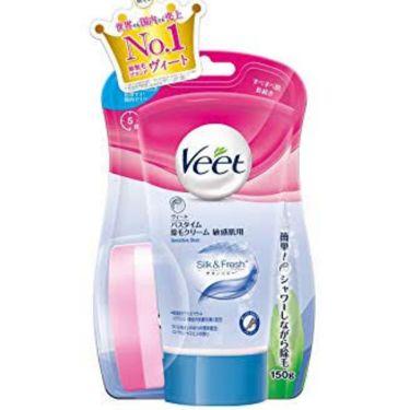 バスタイム除毛クリーム 敏感肌用/Veet/脱毛・除毛を使ったクチコミ(2枚目)
