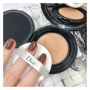 LIPSベストコスメ2020上半期カテゴリ賞 クッションファンデ部門 第1位 Dior ディオールスキン フォーエヴァー クッション ディオールマニア エディションの話題の口コミ・レビューの写真 (2枚目)