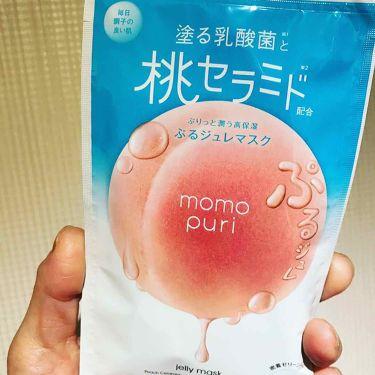 キラキラ☆さんの「その他momo puri ぷるジュレマスク<シートマスク・パック>」を含むクチコミ