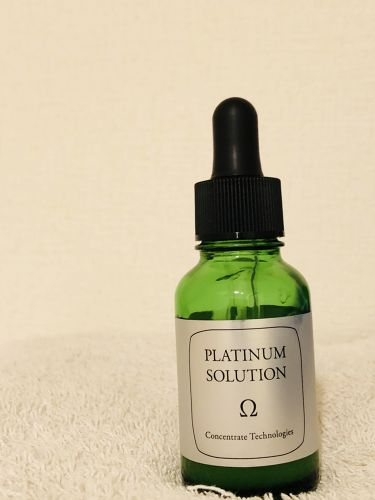 プラチナソリューション オメガ/プラチナソリューション/美容液を使ったクチコミ(1枚目)