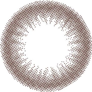 ReVIA 1day [CIRCLE] NUDE BROWN(ヌードブラウン)