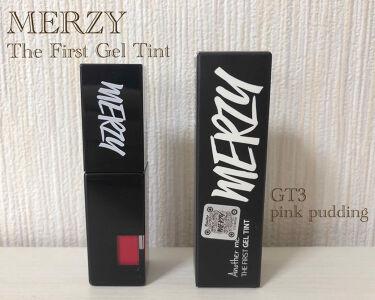 THE FIRST GEL TINT/MERZY/口紅を使ったクチコミ(1枚目)