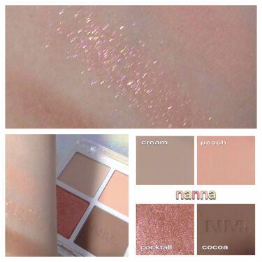 Color-quartet Eye Palette /NAMING./パウダーアイシャドウを使ったクチコミ(2枚目)