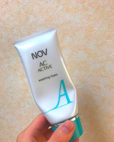 ka🐷さんの「ノブACアクティブ ウォッシングフォーム<洗顔フォーム>」を含むクチコミ