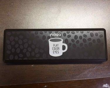 novo   アイシャドウパレット/NOVO/パウダーアイシャドウを使ったクチコミ(1枚目)