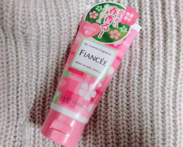 ハンドクリーム さくらの香り/フィアンセ/ハンドクリーム・ケアを使ったクチコミ(1枚目)